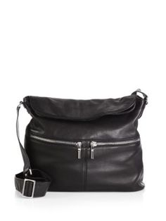 f7d88dfb5d Elizabeth and James - Cynnie Leather Shoulder Bag - Saks.com Hobo Crossbody  Bag,