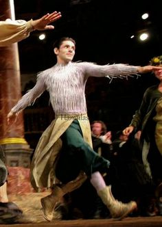 The Tempest at The Globe Theater 2013. Colin Morgan as Ariel.