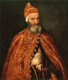 Titian: portrait of Marcantonio Trevisani.