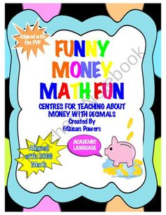 Money Math Centers Shopping Activity from Cool Teaching Tools on TeachersNotebook.com (27 pages)  - Doesn't everyone like to be handed money and then go shopping with it? Send the class on a shopping trip! There are two different shops, a diner and a bank.This is a complete, fun, fully reproducible and very involved lesson all rolled into one 27 pa