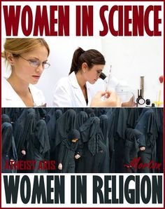 She blinded ME with science... :P - http://holesinthefoam.us/womeninscience/