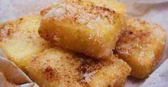 Frytoura Traditional Sweet from Zakynthos Island - Easy and yummy, daily homemade recipes! Greek recipes, Quick recipes, Easy sweets and others. Greek Recipes, Raw Food Recipes, Snack Recipes, Dessert Recipes, Cooking Recipes, Healthy Cooking, Delicious Deserts, Yummy Food, Greek Pastries