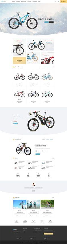 #Bicycle Store #Prestashop #Responsive Theme #sports#Vehicles #racing #games #Automotive and multi-purpose store - Web Design - #TemplateTrip