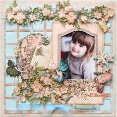 Layout: Once Upon a Springtime ~My Creative Scrapbook~