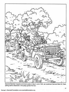 coloring book pages to print ww2 army coloring pages 008