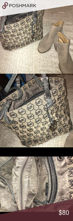 Michael Kors Purse Great condition, has been used. There are signs of wear on straps but it isn't noticeable at all. It's a great bag, still has so much life. Authentic ✔️ Michael Kors Bags Shoulder Bags