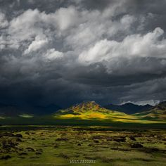 Brooding by Leah Kennedy on Orkhon River Valley, Mongolia. Our Planet Earth, East Of Eden, Mongolia, Albert Einstein, Beautiful Places, Clouds, River, Mountains, Photography