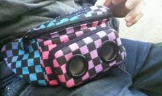 Jammy Pack, Ultimate Fanny Pack with Speakers - Lacrosse Playground People With Glasses, Lacrosse, Playground, Lunch Box, Packing, Music, Bag Packaging, Musica, Musik
