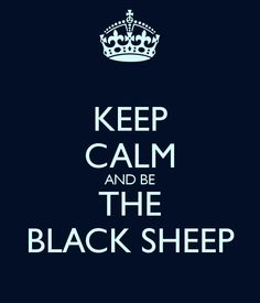 black sheep. baaaaa. maternal narcissism destroys families.