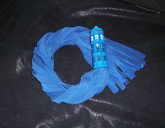 Doctor Who Tardis inspired BDSM flogger Mature by GeekKink on Etsy, $120.00