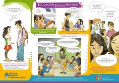 MATERIAL PARA DESCARGAR SOBRE EDUCACIÓN SEXUAL INTEGRAL – Fuente: Ministerio de…