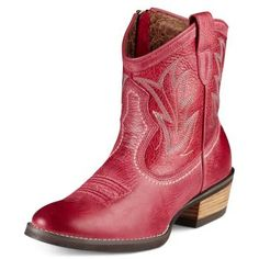 Ariat. nice! [black and brown also available...boring. ;)]