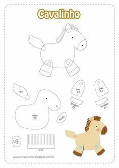 HORSE PAPER PIECING