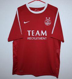 3122482d78b Aberdeen Scotland home shirt 10 11 Nike Tabla De Surf