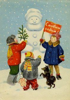 Новогодние открытки (часть 3): shaltay0boltay