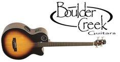 Boulder Creek EBR1-TB4FE 4-String Fretless Acoustic Bass