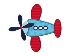 Aeroplano de la máquina apliques bordados diseños por SewWithLisaB
