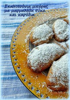 Καλημέρα και καλή εβδομάδα! :) Ας ξεκινήσουμε γλυκά την εβδομάδα με μια ακόμη πρόταση για το σχολικό ταπεράκι αλλά και για ένα υγεινό σνακ. Γλυκό, νόστιμο και απλό! Τριφτή ζύμη που όταν σπάσει στην πρ Cooking With Beer, Greek Recipes, Vegan Desserts, Cornbread, Food And Drink, Favorite Recipes, Sweets, Cake, Ethnic Recipes