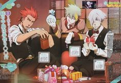 Madhouse, Death Parade, Ginti, Decim, Clavis (Death Parade)