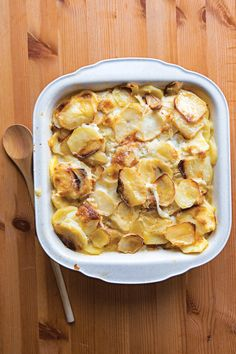 Old Fashioned Scalloped Potatoes