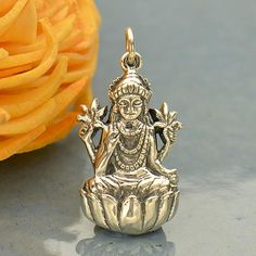 Hey, I found this really awesome Etsy listing at https://www.etsy.com/listing/512606012/bali-sterling-silver-lakshmi-pendant