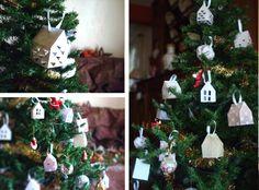 DIY: maison en papier, origami caroleadore.com