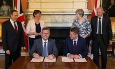 Tory-DUP £1bn deal: crowdfunded legal challenge reaches high court Case alleges Westminster pact breaches both Good Friday agreement and Bribery Act