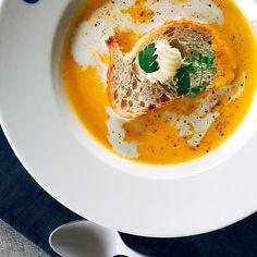シロー's dish photo カボチャのクーリ | http://snapdish.co #SnapDish #レシピ #野菜の日(8月31日) #ハロウィン #ポタージュ #宮城の料理 #夏バテ&熱中症対策料理2016