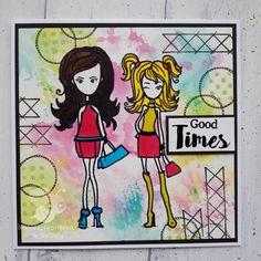 Good Times, Journaling, Bee, Stamp, Crafty, Comics, Girls, Caro Diario, Daughters