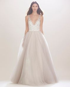 Carolina Herrera Fall 2016 Wedding Dress Collection | Martha Stewart Weddings