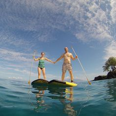 Learn to stand up paddle board on Maui!