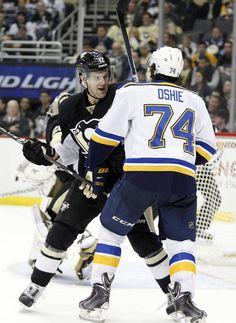 Ben Lovejoy Photos: St Louis Blues v Pittsburgh Penguins