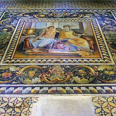 Kültürel Miras ve Turizm / Cultural Heritage and Tourism : Zeugma Mozaik Müzesi; 9 Eylül 2011 tarihinde Gaziantep'te açılan ve 1700 metrekarelik mozaik ile Dünya'nın en büyük mozaik müzesi olma özelliğini taşıyan müzedir. / Zeugma Mosaic Museum, in the town of Gaziantep, Turkey, is the biggest mosaic museum on the world, containing 1700m2 of mosaics. It opened to the public on 9 September 2011