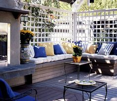 back deck ideas
