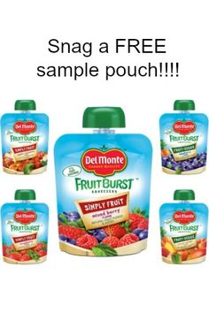 """Del Monte has an awesome FREE sample Snaggers! It was also one of the easiest order forms we've ever seen! Just click Snag This now to order your FREE sample while they last. Please """"like"""" this awesome FREE sample so your Facebook friends can Snag it too. Check out thegreatdeal on these organic fruit snacks …"""