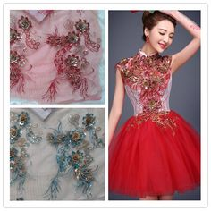 Cheap Lace on Sale at Bargain Price, Buy Quality applique quilt, fabric connectors, applique vest from China applique quilt Suppliers at Aliexpress.com:1,Decoration:Sequins 2,Material:100% Polyester 3,Width:around 44*32cm 4,Technics:Embroidered 5,Product Type:Lace