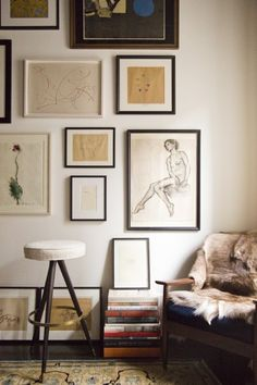 A Large, Floating Wall Breaks Up A Large Space  Why Not Add Pictures, Too!?  | Gallery Walls | Pinterest | Floating Wall, Wall Galleries And Gallery Wall Part 82