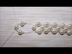 Tutorials #1 Pulseira Pérolas - YouTube