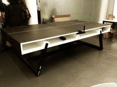 A ping pong table for the style aficionado.