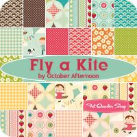 Fly a Kite. october afternoon for Riley Blake Designs.  exptd shipment jan 2012