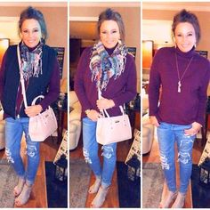 3 Different Looks With 3 Items - Beverly Ennis Hoyle Puffer Vest Outfit, Vest Outfits, Fall Outfits, Work Outfits, Modest Fashion, Fashion Outfits, Womens Fashion, Fashion Trends, Fashion Over 40