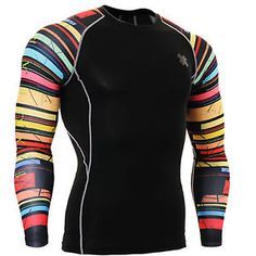 Clothing, Shoes & Accessories Cooperative Skins Dnamic Compression Long Sleeve Top Herren Funktionsshirt Sportshirt