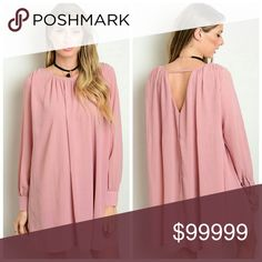 Coming soon!! Mauve dress Simple, clean lines make this mauve colored dress easy and fun to wear alone or with tights. 100% polyester. Unity Blend Dresses Long Sleeve