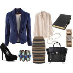 Ready To Business, created by patricia-teixeira on Polyvore