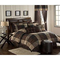 Carlton 10-piece Oversized Queen Comforter Set