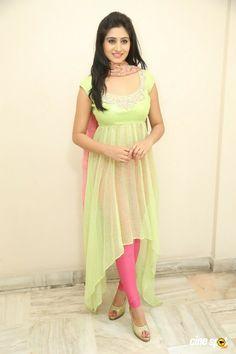Shamili at Close Friends Song Launch Indian Gowns Dresses, Indian Fashion Dresses, Dress Indian Style, Indian Designer Outfits, Indian Outfits, Designer Dresses, Simple Kurti Designs, Kurta Designs Women, Salwar Designs