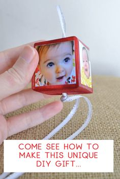 gift idea - how to make an ornament - photo gift - adult crafts - christmas craft idea - grandparent gift - christmas decor Grandparents Christmas Gifts, Grandparent Gifts, Great Christmas Gifts, Christmas Crafts, Christmas Decorations, Photo Christmas Ornaments, Christmas Photos, Mod Podge On Wood, Personalized Photo Ornaments