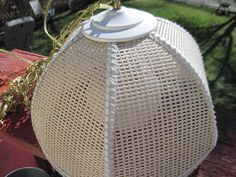 Wicker Country Charm  hanging White Light / by Daysgonebytreasures