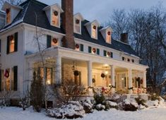 The Birchwood Inn - Lenox, MA A tranquil and top-notch place to relax and write.