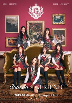 Girl Group GFriend to Kick off Asian Tour Next Month - The Chosun Ilbo (English Edition): Daily News from Korea - Entertainment > Entertainment Gfriend And Bts, Gfriend Yuju, Gfriend Sowon, Kpop Girl Groups, Korean Girl Groups, Kpop Girls, Kpop Posters, Concert Posters, Extended Play